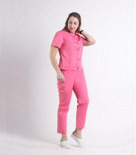 Женский медицинский костюм 0071 Вишня коралл