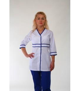 Медицинский костюм 4304 с окантовкой