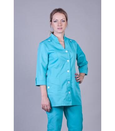 Медицинский женский костюм 5204 яблоко