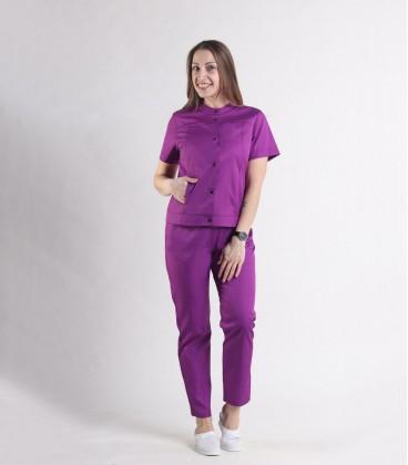 Женский медицинский костюм 0071-7 Вишня буряк