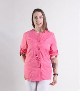 женская медицинская куртка Ангелина 1365-2 коттон
