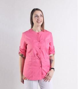 Женская медицинская куртка 1362-2 Ангелина батист коралл