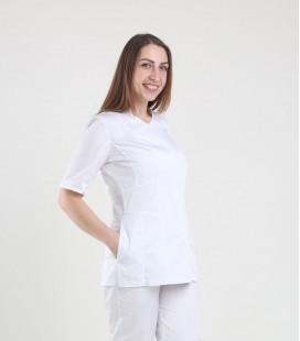 Медицинская куртка 1372-2 Дания белая