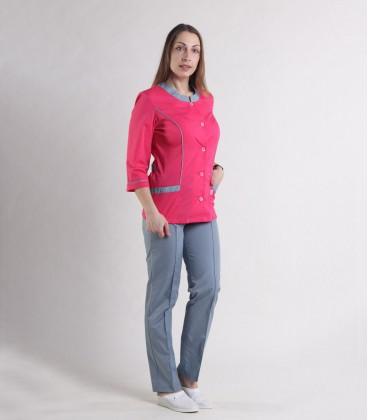 Женский медицинский костюм 0054-6 Лара коралл