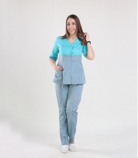 медицинский костюм 0051-11 Рокси батист яблоко