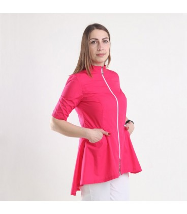 Медицинская куртка 1373-2 Фарида малина