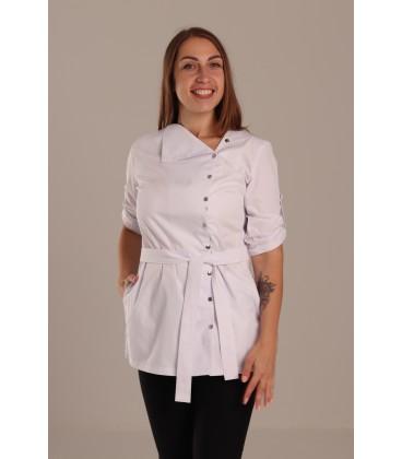 Медицинская куртка Валада цвет белый