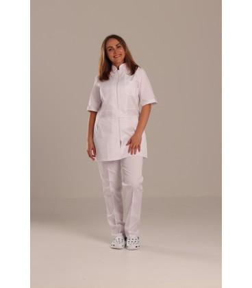 медицинский костюм 1213-2 Леся белый