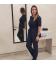 Медицинский костюм 7002-1 Сильвия синий
