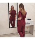 Медицинский костюм 7002-2 Сильвия бордо