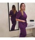 Медицинский костюм 7002-7 Сильвия фиолетовый