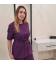 Медицинский костюм 7002-8 Сильвия фиолетовый
