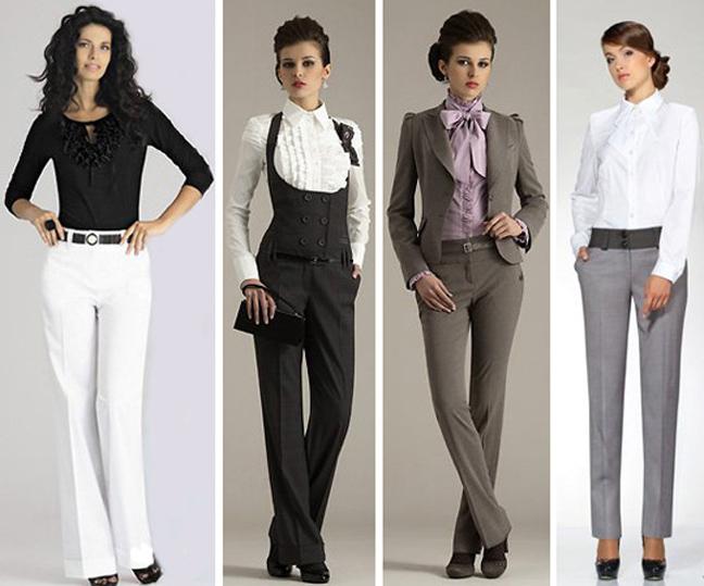 примеры женского делового стиля одежды