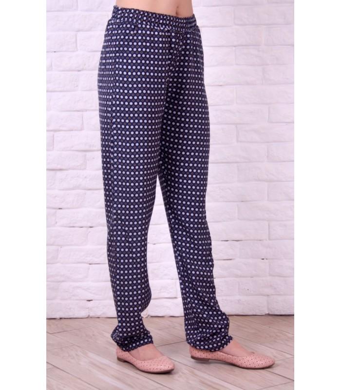 штапельные женские брюки