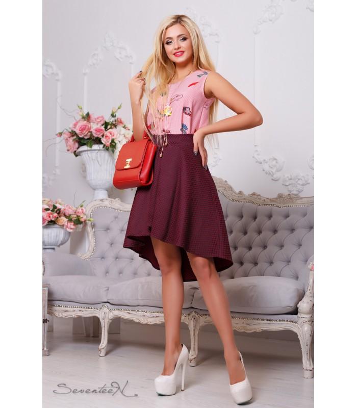 женская молодежная юбка