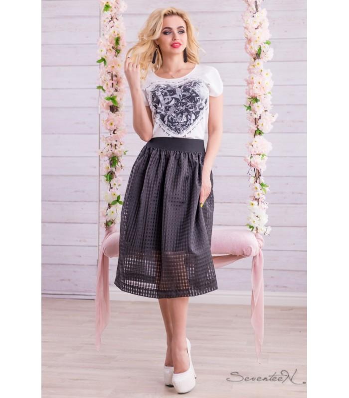 стильные женские юбки от макси мини
