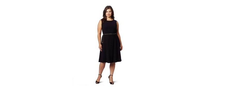 Платья для девушек пышных форм